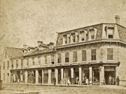 Northwest corner Queen and Water Streets, 1884