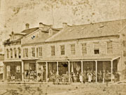 North side of Queen Street, 1884