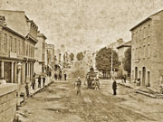 Queen Street looking east, 1884
