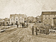 Queen Street looking east, 1865